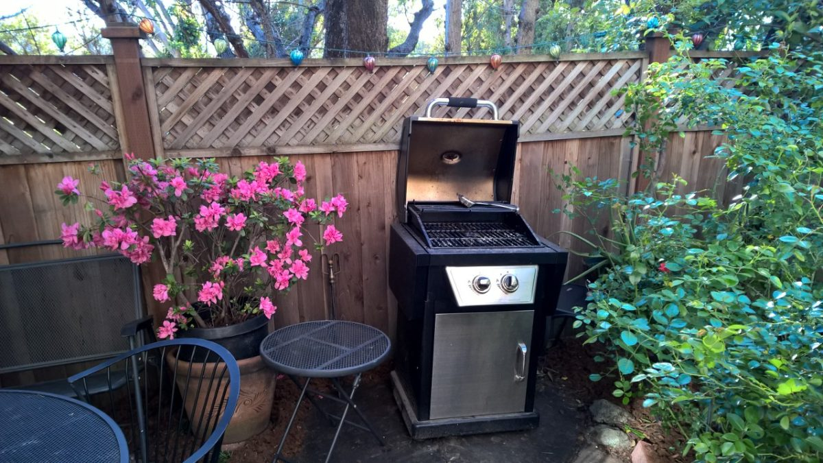 Cooking out of doors